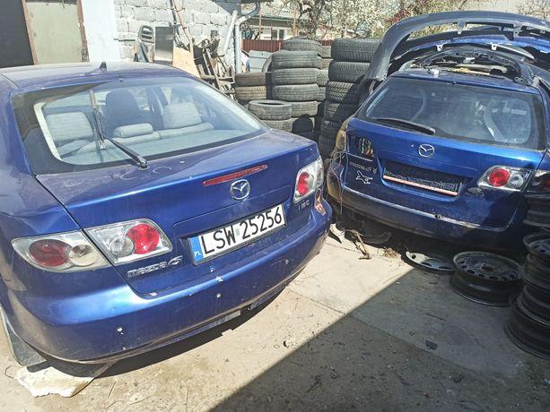 На запчасти розборка Mazda 6 2.0D RF5C 2002-2005рр