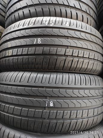 235.45.18 Pirelli 2шт лето БУ склад шины резина из Европы