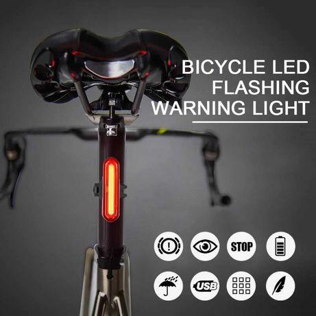 Велофара задняя фара для велосипеда велофонарь USB задній ліхтар