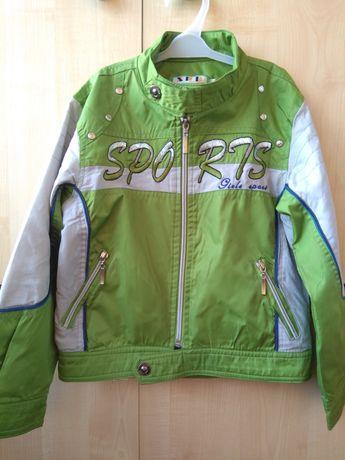Куртка ветровка 116-120