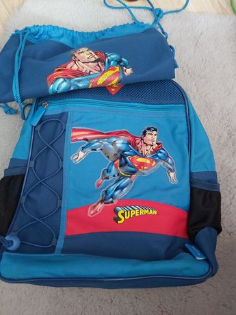 Plecak + worek superman