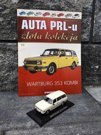 Kolekcjonerski WARTBURG 353 KOMBI-auta PRL,model,autka,resoraki,auto