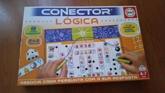 Jogo de lógica dos 4-7 anos