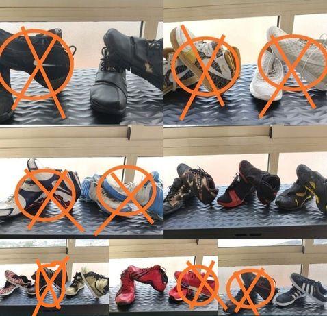 Lote sapatilhas Nike adidas Reebok 45