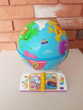 Edukacyjny globus odkrywcy Fisher-Price