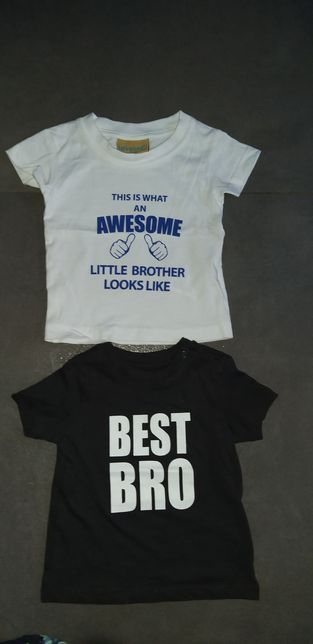 Jest bro koszulka dla braciszka 68 hm
