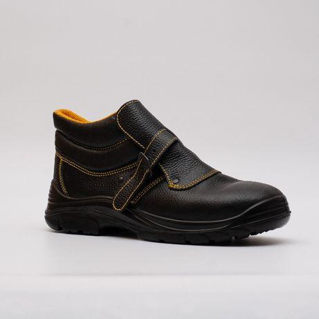 Ботинки СВАРЩИКА кожаные. СПЕЦОБУВЬ ЗАЩИТНАЯ мужская рабочая обувь