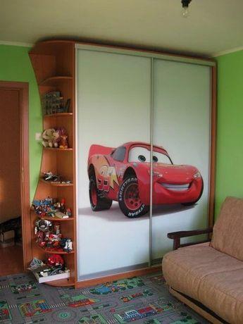 Шкаф купе в детскую комнату. Любой размер и рисунок! Гарантия!
