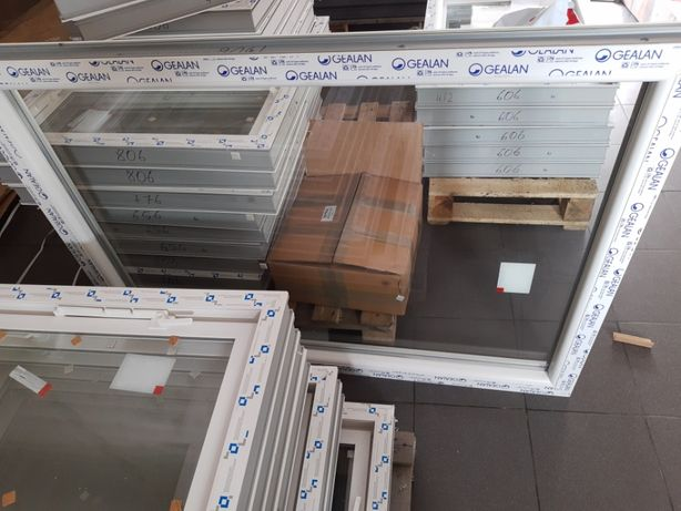 Okna inwentarskie Nowe podwójna szyba 6-komorowy profil NOWE