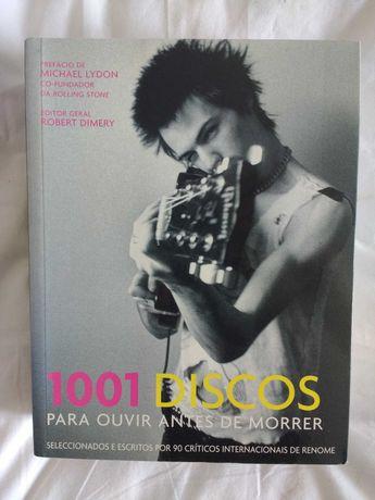 """Livro """"1001 discos para ouvir antes de morrer"""""""