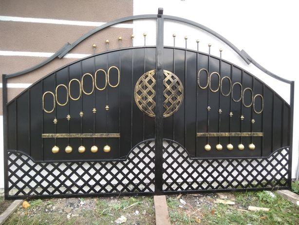 Ковані ворота  12 тис грн брама. Фіртка калітка