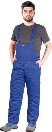 Spodnie robocze ogrodniczki ocieplane SMO-PLUS