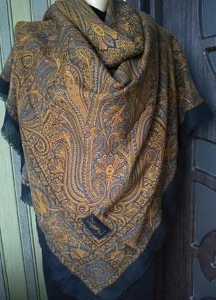 Yves Saint Laurent роскошный люксовый большой платок