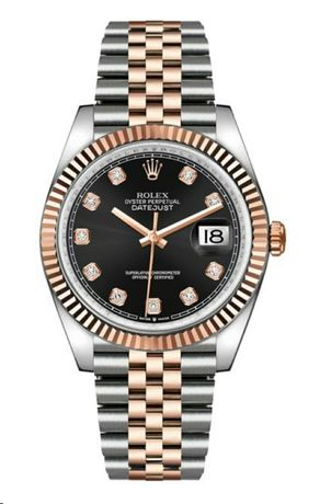 Rolex Datejust 36mm Steel/Everose Gold