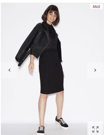 Платье черное Armani Exchange размер S