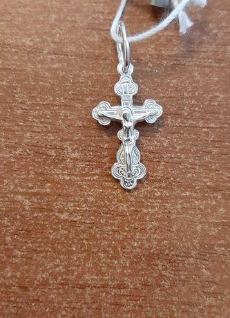 Товары для крестин ( шнурки и крестики) серебро низкие цены
