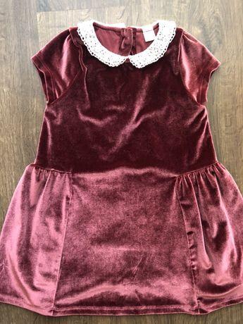 Платье 98 104 на девочку 3-4 года праздничное
