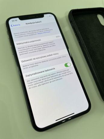 iPhone X 10 64 GB bateria 89% doskonały stan