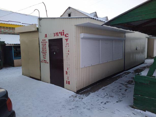 Торгове місце на ринку м. Христинівка