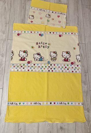 Pościel dziecięca Hello Kitty 90x130