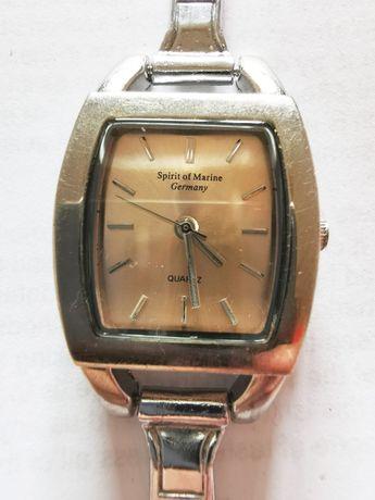 SPIRIT OF MARINE (NIEMCY) Zegarek damski różową tarczą metalowa br.