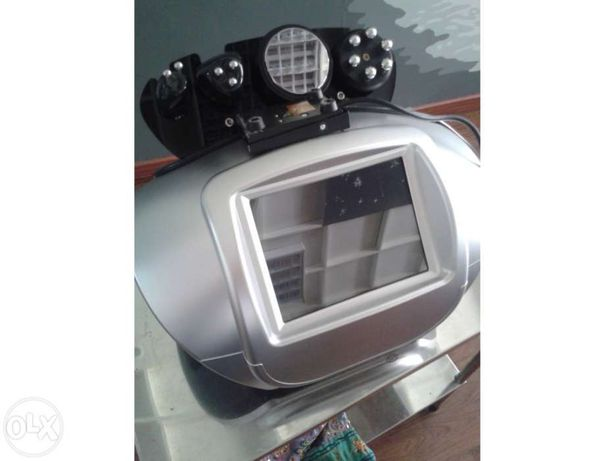 Máquina cavitação e radio frequência rosto e corpo hexapolar com led