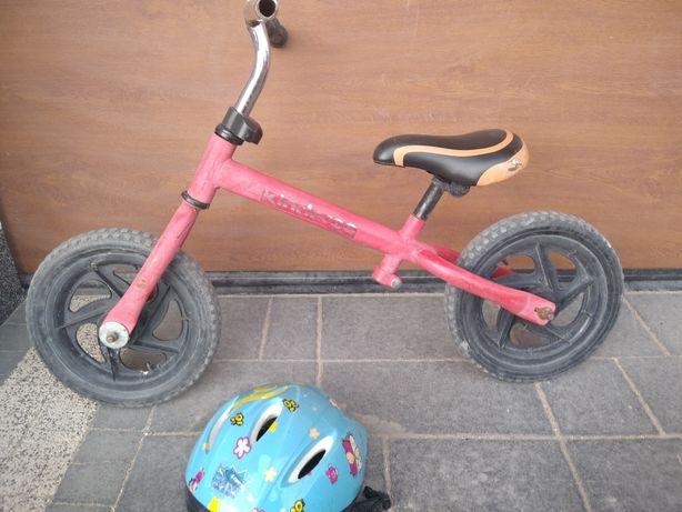 Rower biegowy czerwony