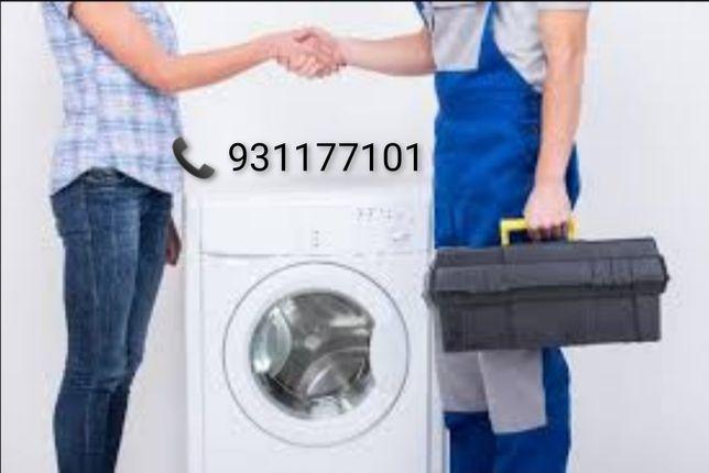 Reparamos sua máquina de lavar roupa, loiça e Secadora. ligue já!