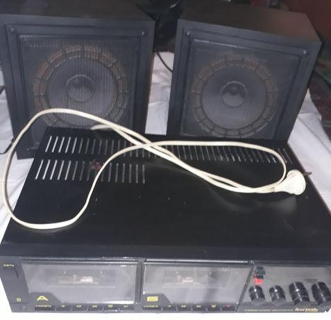 Магнитофон Маяк 242-с с колонками
