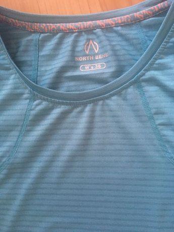 North Bend koszulka na trening, bieganie rower fitness 38 M