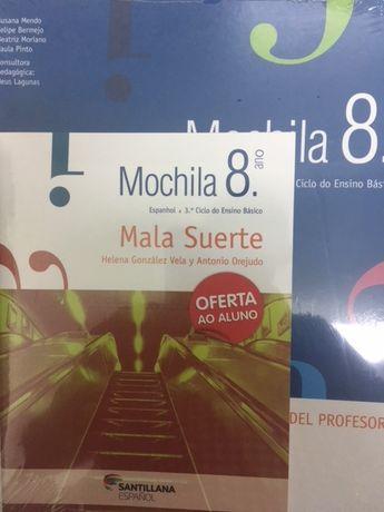 Mochila 8º ano, Espanhol - Pack do professor