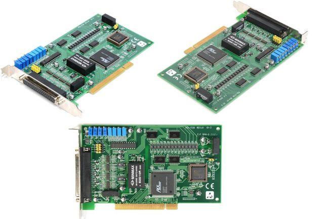 Karta przemysłowa PCI-1720 REV.A1 01-03 4x wyj.analog izol. 2,5kV