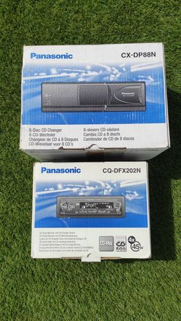 Auto Rádio Panasonic + caixa cds