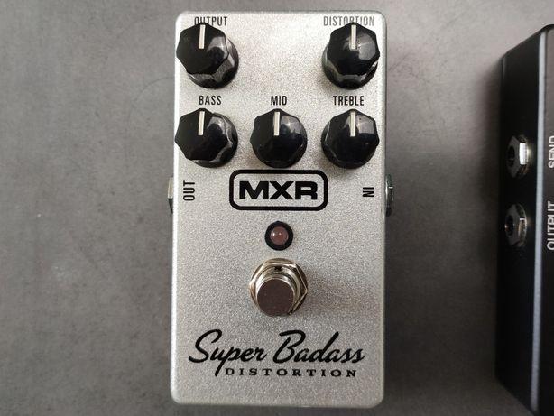 MXR Super Badass Distortion - przester, efekt gitarowy