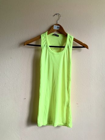 Neonowa bluzka bokserka, rozmiar uniwersalny NOWA