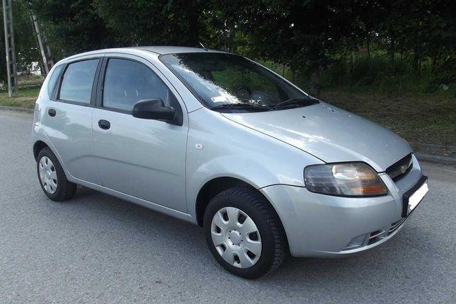 Chevrolet Aveo ekonomiczny 1,2 benzyna,138 tys przebieg,2007 rok