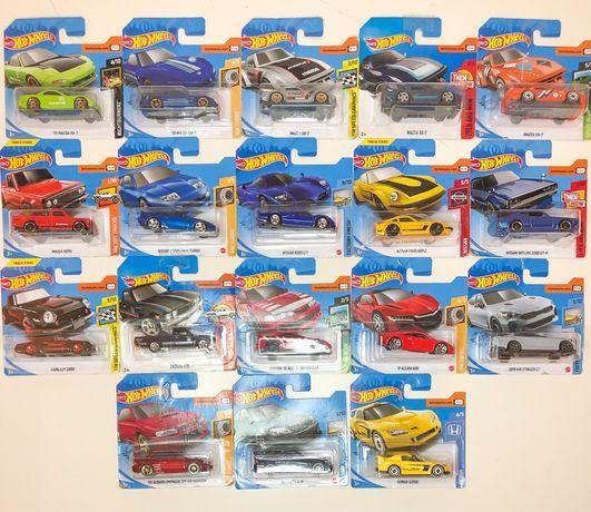 Hot Wheels Japoneses(Nissan, Honda, Subaru)