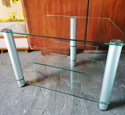 Stolik szklany pod tv i sprzęt audio