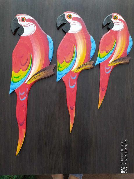 Sprzedam ozdoby - papugi