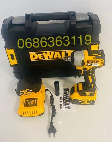 Мощный аккумуляторный гайковерт DEWALT 24v (Brushless) безщеточный!