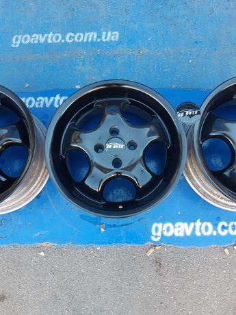 GOAUTO комплект красивых дисков 4/100 r15 et37 7j dia63.3 в идеальном