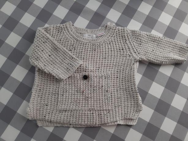 Sweterek Zara r.74