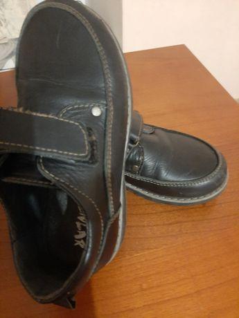 Туфли кожаные в школу. 31р. 20см.
