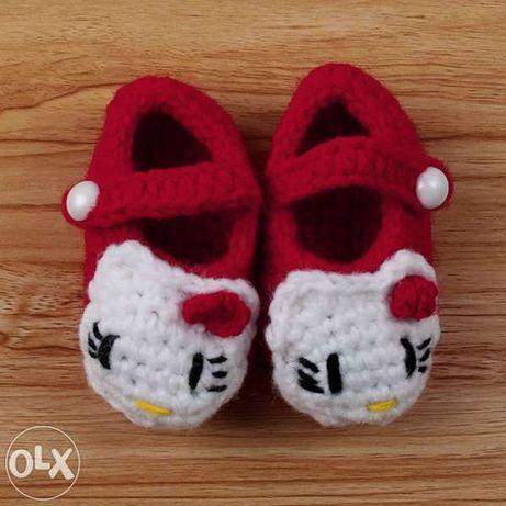 Sabrinas para bebé Hello Kitty. NOVAS