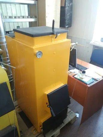 Шахтный котел Холмова от 8квт длительное горение, поставка с завода