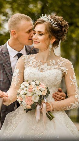 """Свадебное платье """"Стефани"""" айвори"""