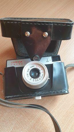 Stary klasyczny aparat na klisze.