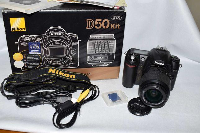 Kit – Nikon D50 com extras
