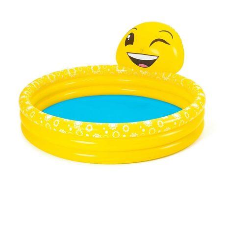 Детский надувной бассейн Bestway 53081 «Емодзи», 165х 144х 69см