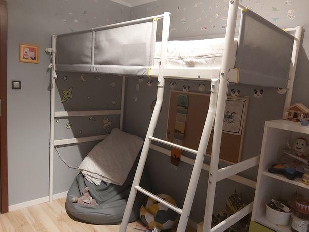 Rama łóżka łóżko piętrowe łóżko na antresoli IKEA VITVAL 90 x 200